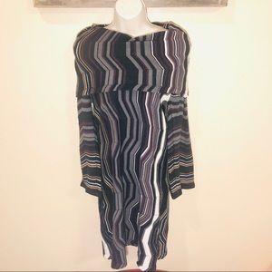 London Times mock neck dress size XL